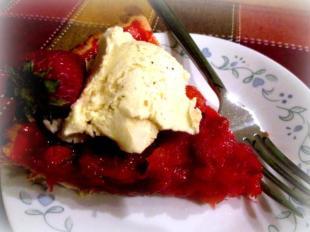 ~ Strawberry - Pineapple Pie ~ Recipe