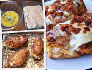 Bacon Parmesan Fried Chicken Recipe