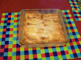 White bread peach cobbler Recipe