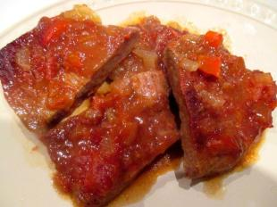 ~ Oven BBQ Steak ~ Recipe