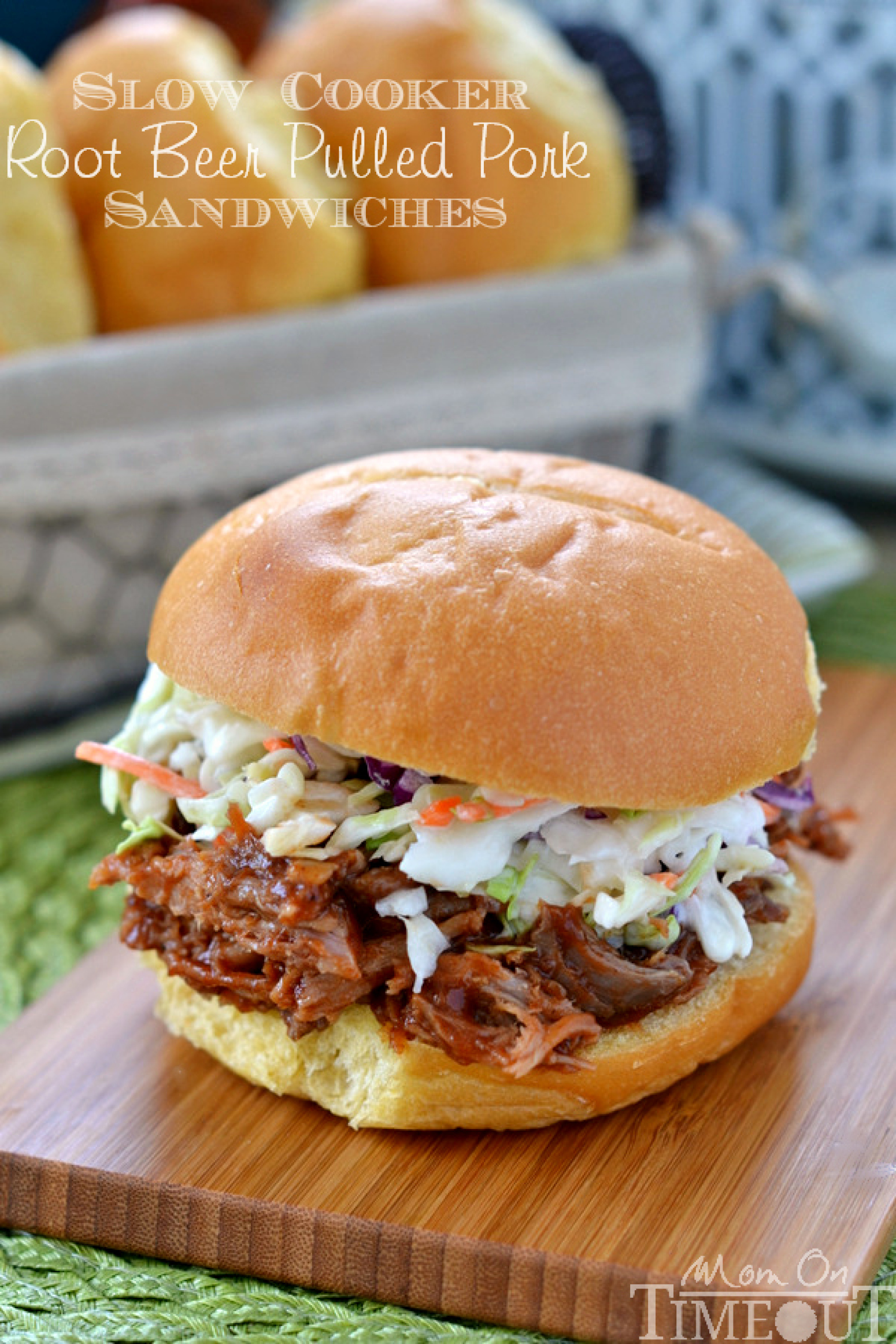 Slow Cooker Root Beer Pulled Pork Sandwiches Recipe 3 ...