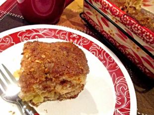 ~  Pineapple - Nut Crunch Coffee Cake ~ Recipe