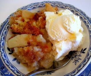 ~ Awesome Apple Crumb Crisp ~