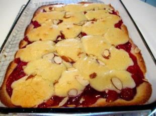 ~ German Cherry Kuchen ~ Recipe