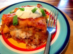 ~ Cinco de Mayo Burrito Bake ~ Recipe
