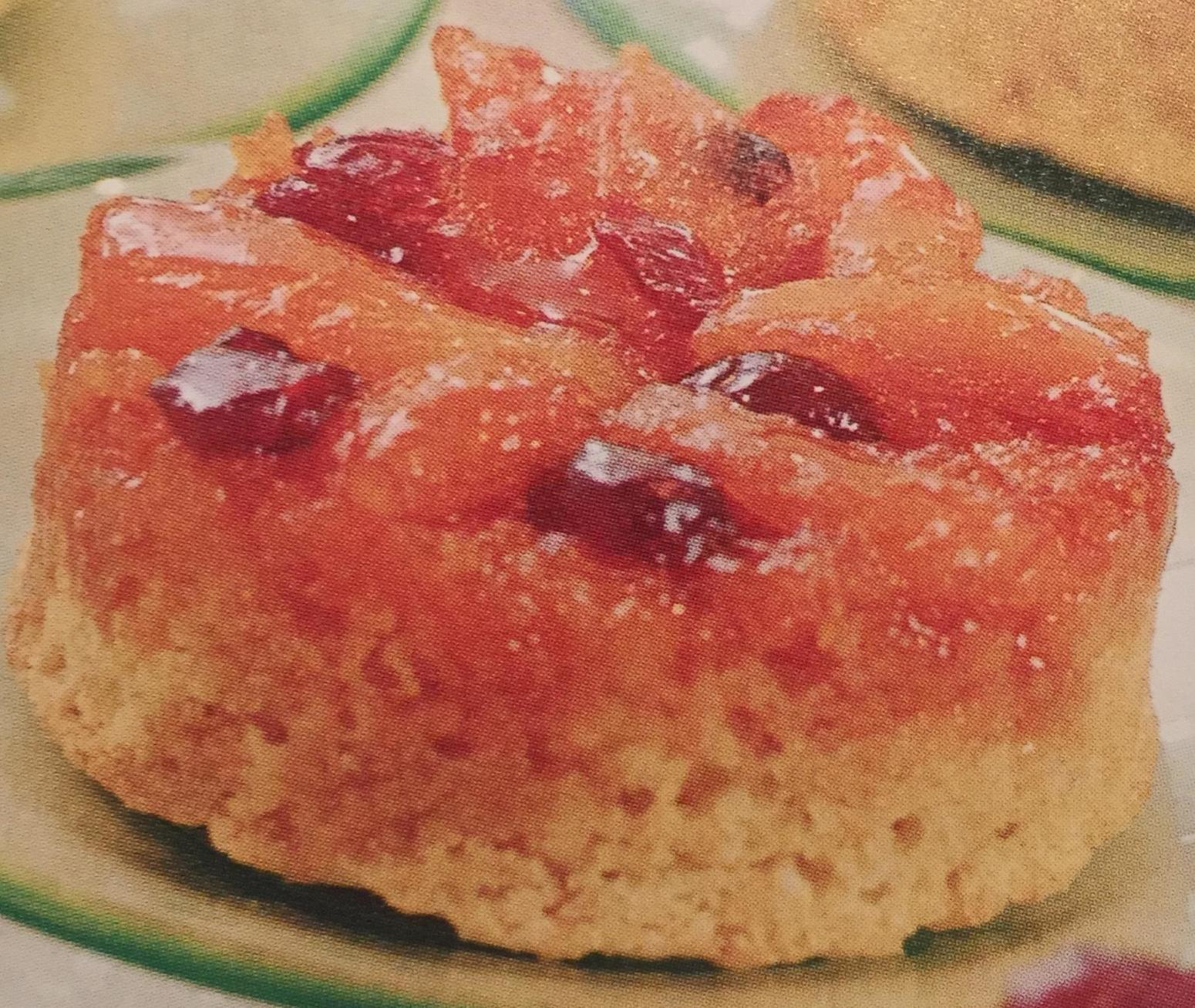 Dried Apricot & Cranberry Upside Down Cakes Recipe | Just A Pinch ...
