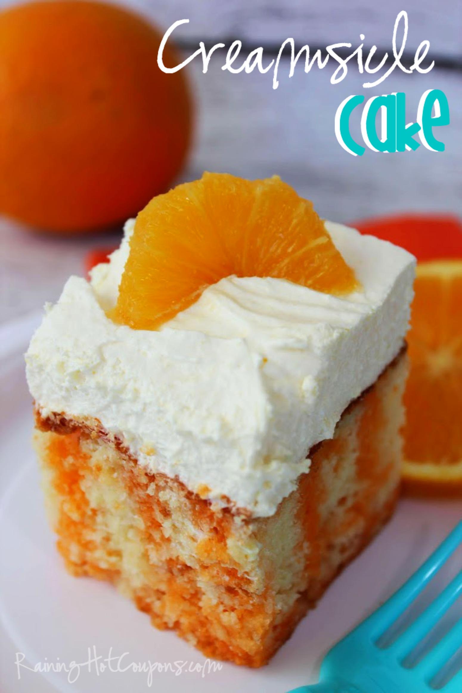 Creamsicle Cake Mix Recipe