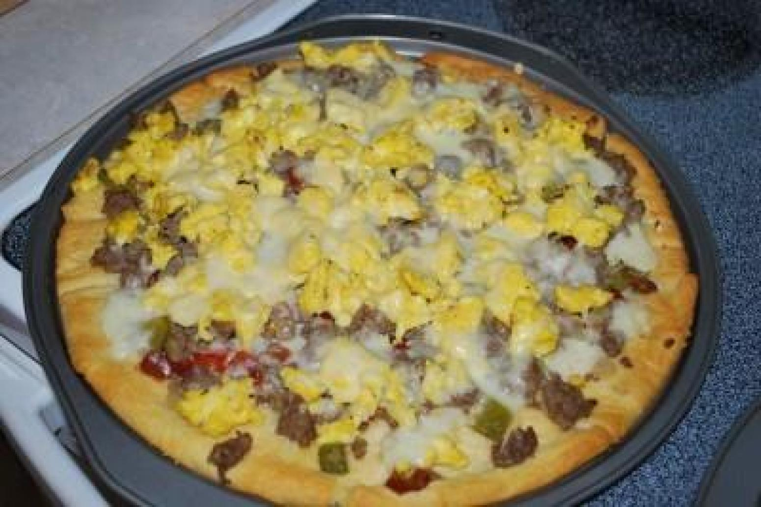 Breakfast Pizza Recipe 2 | Just A Pinch Recipes