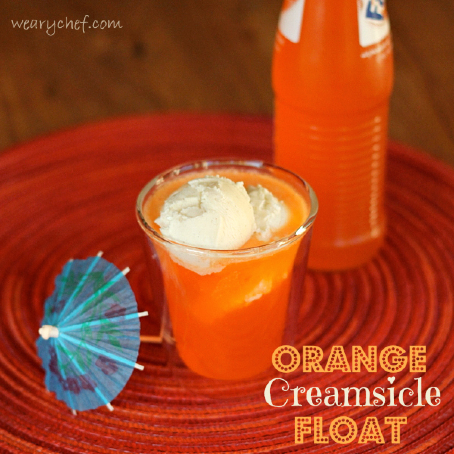 Orange Creamsicle Float Recipe 2 | Just A Pinch Recipes