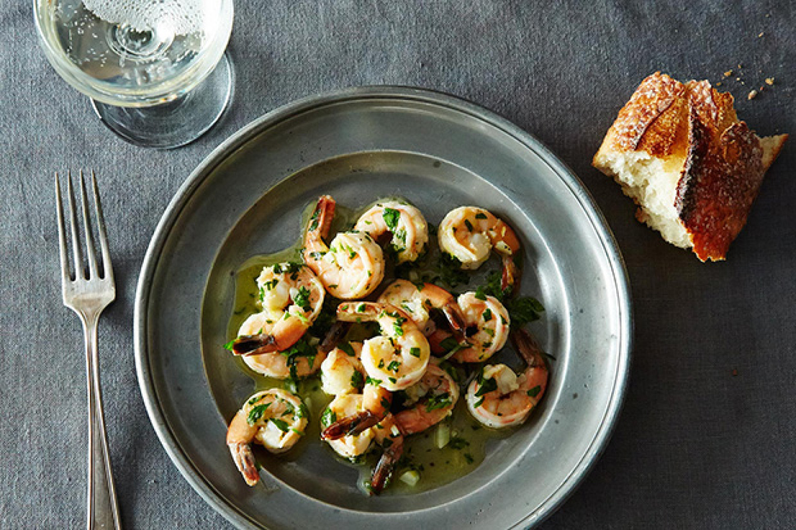 Sauted Shrimp with Lemon Garlic and Parsley Recipe 2 | Just A Pinch ...