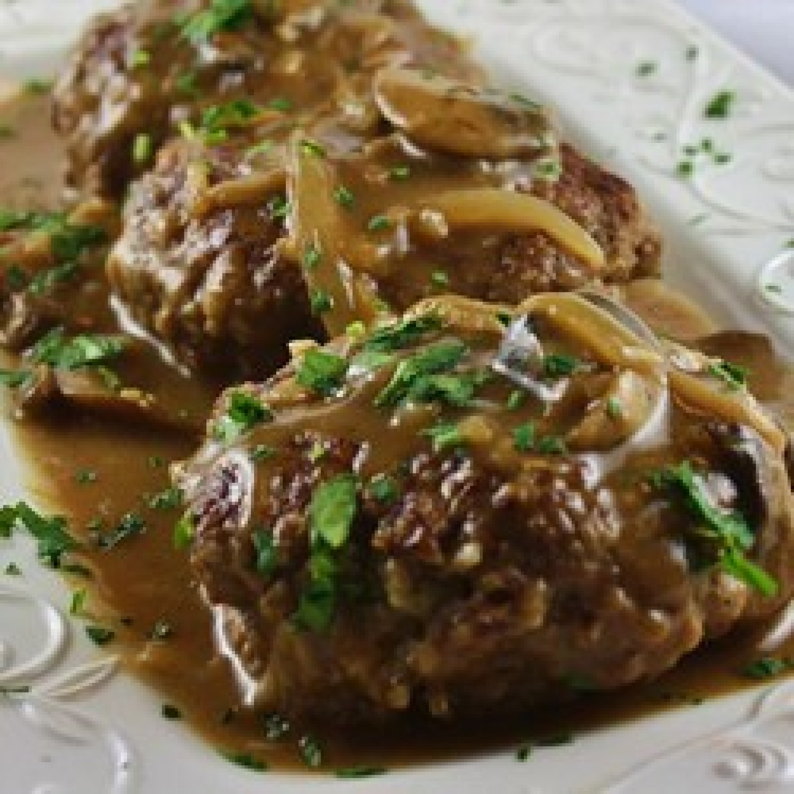 Midwest Salisbury Steak Recipe | Just A Pinch Recipes