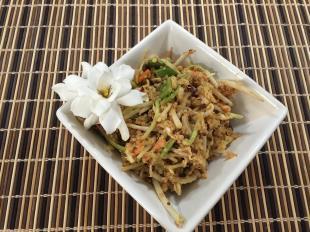 Spicy Peanut Quinoa Salad Recipe