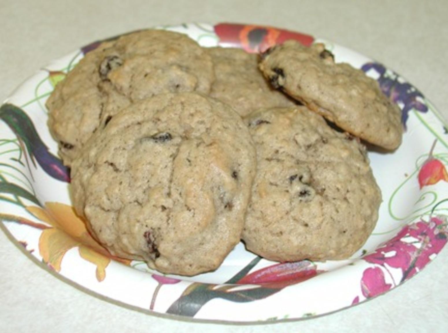 Moist Oatmeal Cookies Recipe