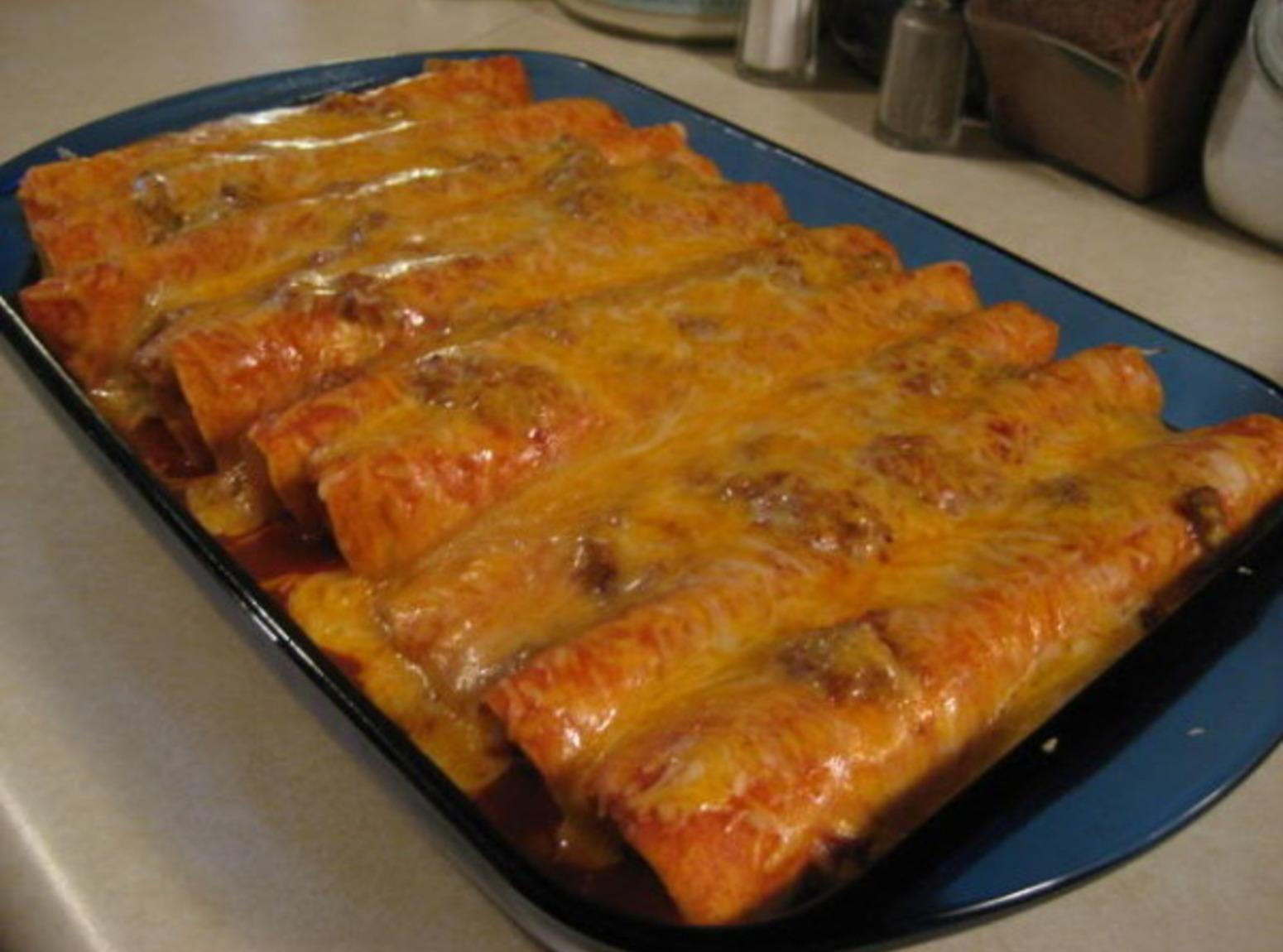 Beef Enchiladas Recipe 6 | Just A Pinch Recipes