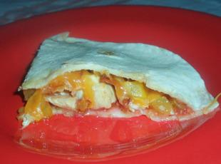 Raspberry Chipotle Chicken Tortillas Recipe