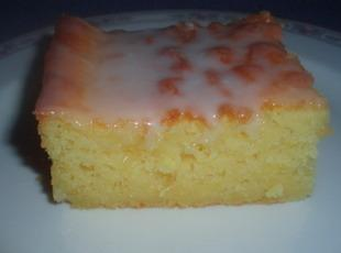 Ice Box Lemon Drop Cake