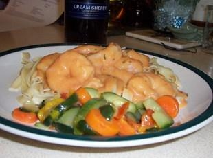 Shrimp Newburg ~ Flavors of Cape Cod Recipe