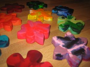 Fun Rainbow Crayons Recipe