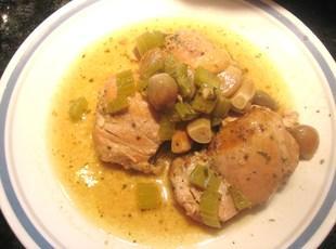 Crock Pot - 40 Garlic Clove Chicken Recipe