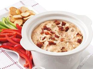 Slow Cooker Bacon Cheeseburger Dip