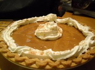 Apple Pumpkin Pie