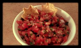 Our Favorite Tomato Salsa! Recipe