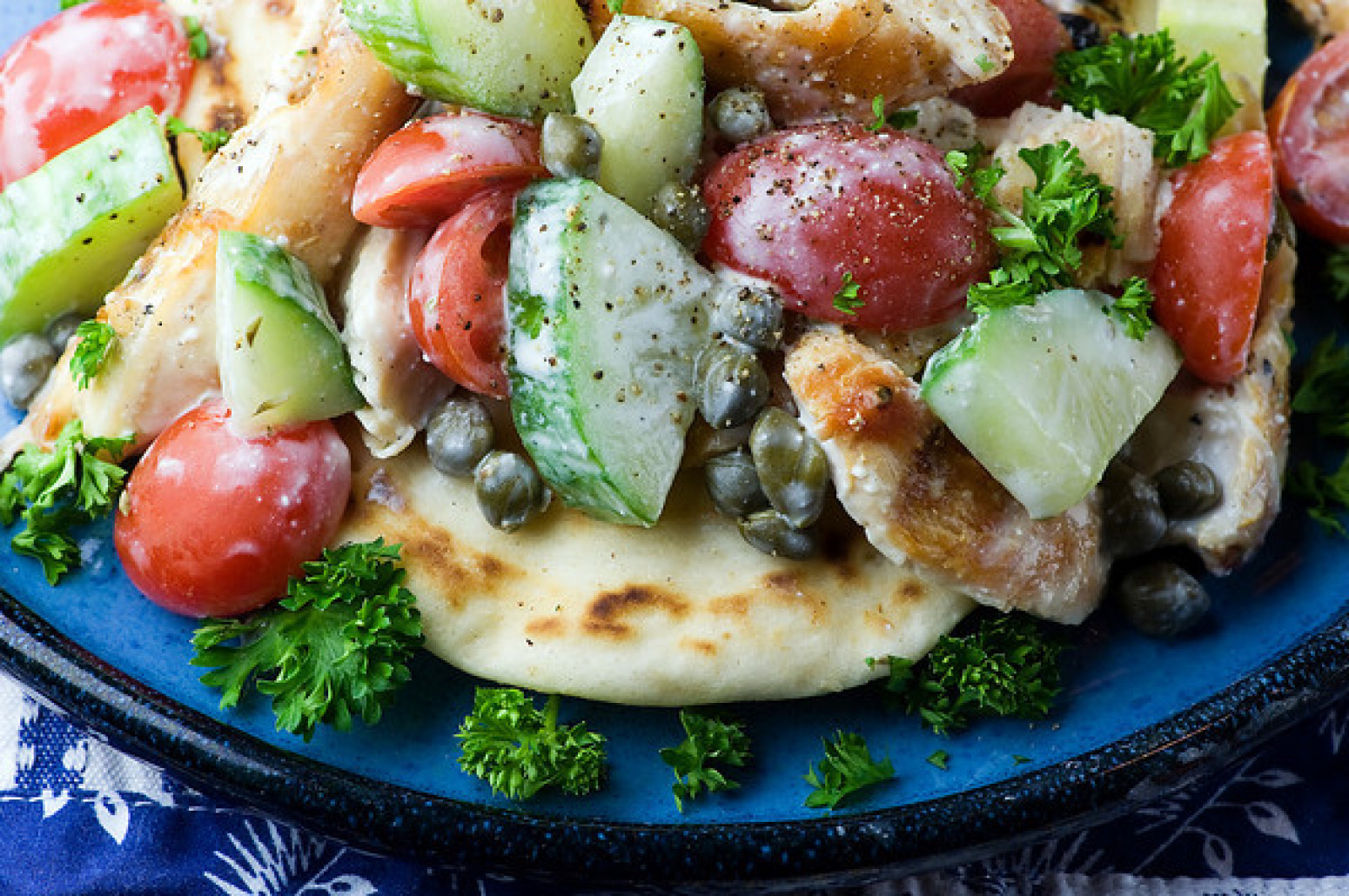 One Bowl Chicken Souvlaki Recipe | Just A Pinch Recipes