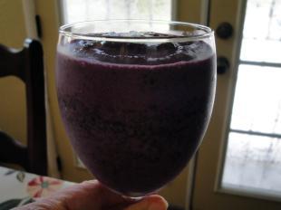 Maple Blue Smoothie Recipe