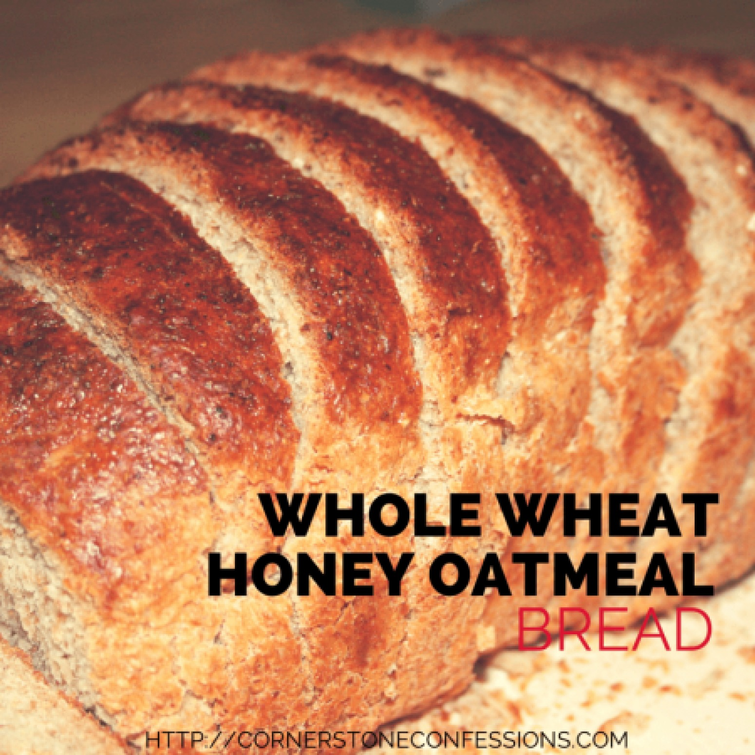 Whole Wheat Honey Oatmeal Bread Recipe 4 | Just A Pinch Recipes