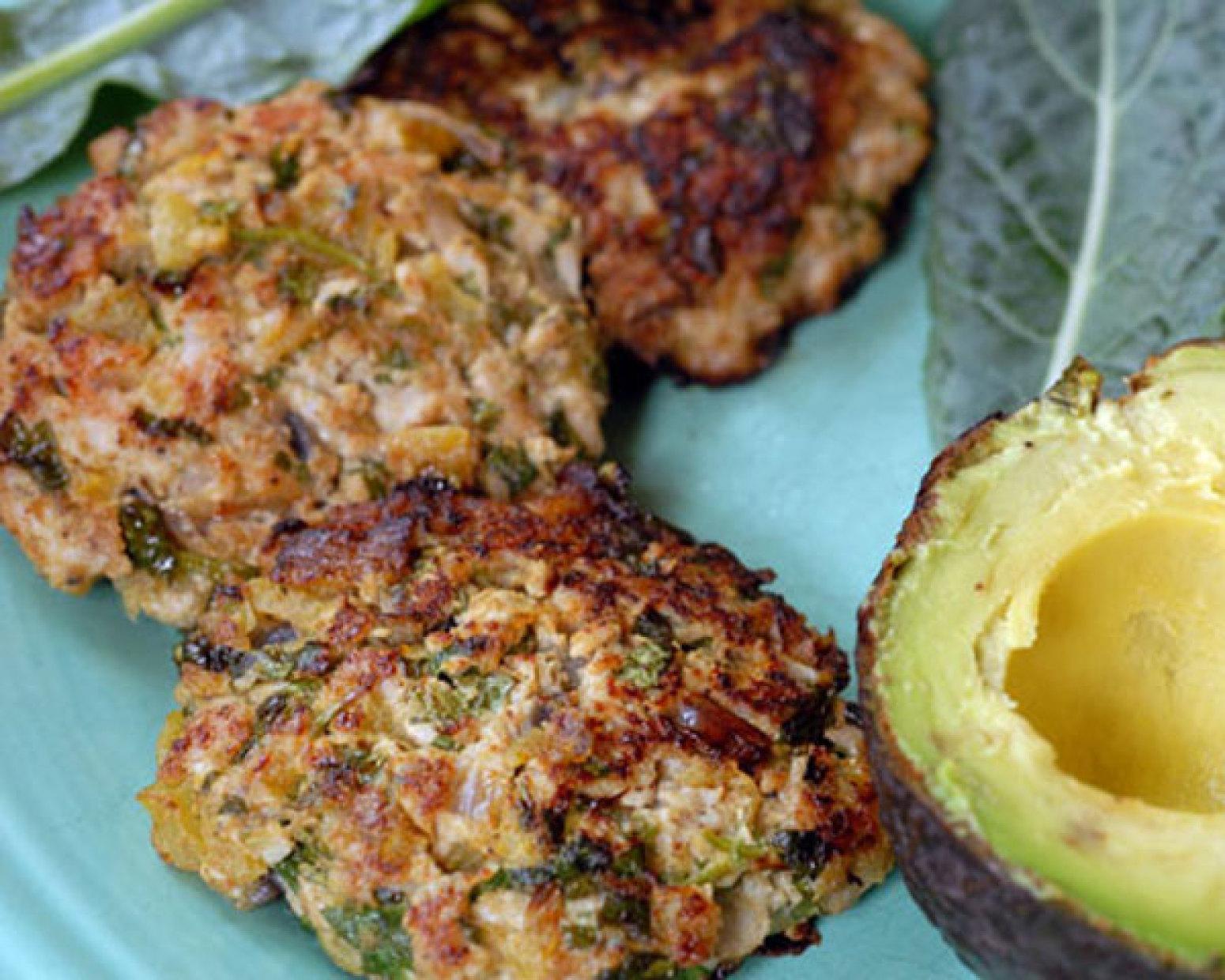Green Chile Turkey Burgers Recipe 2 | Just A Pinch Recipes