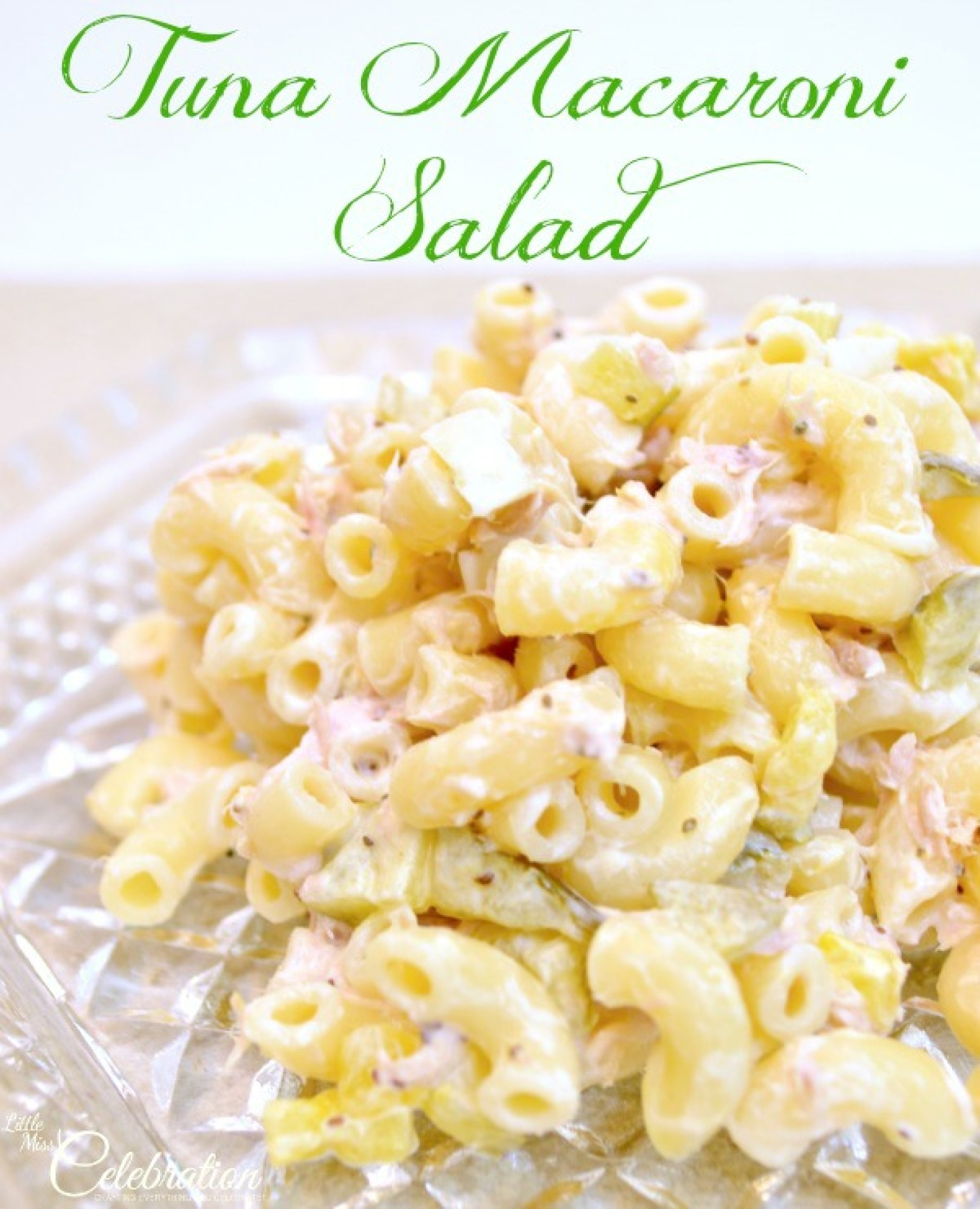 Tuna Macaroni Salad Recipe 7 | Just A Pinch Recipes