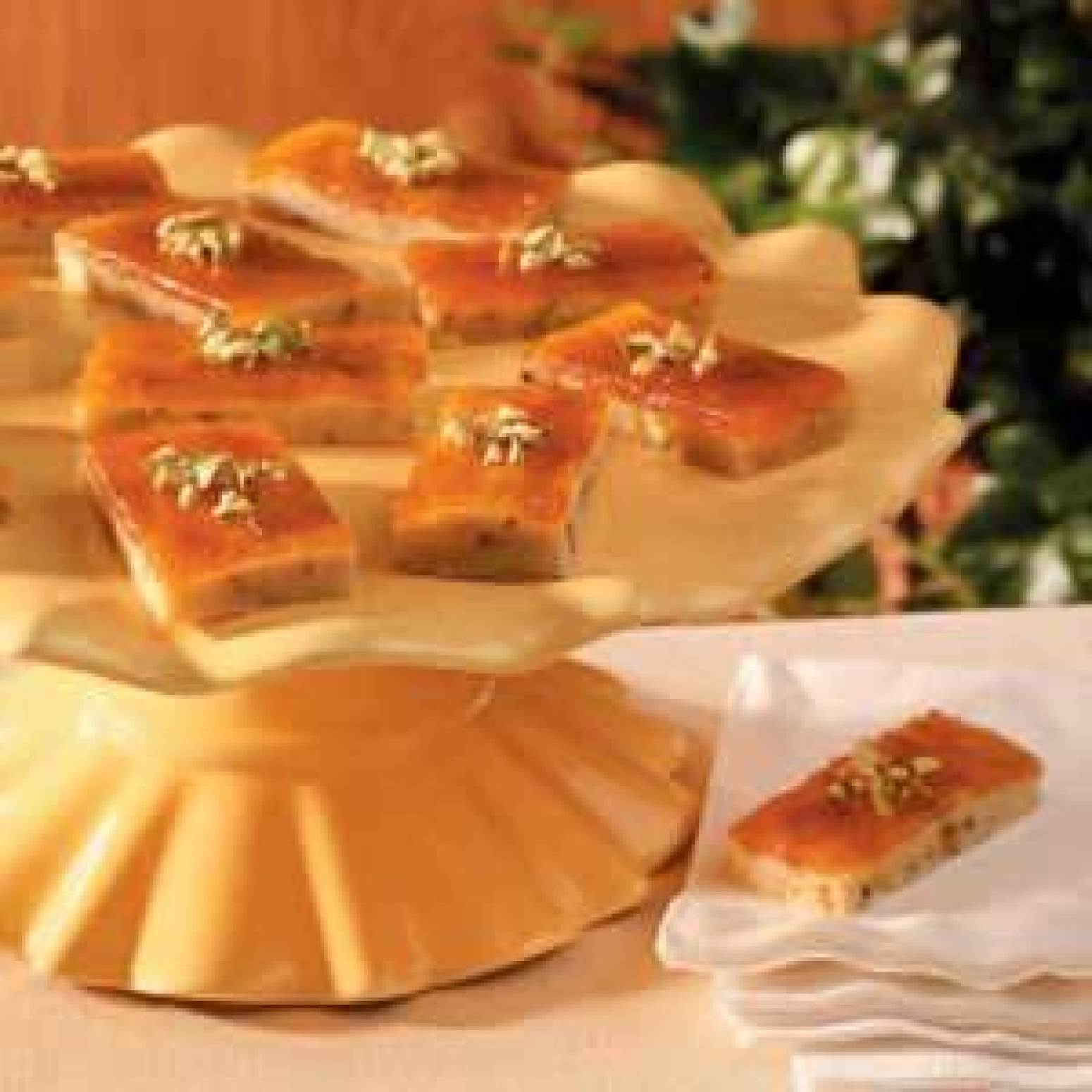 Pistachio Apricot Bars Recipe | Just A Pinch Recipes