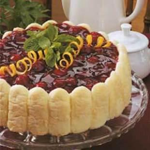 Cherry Cheese Torte Recipe