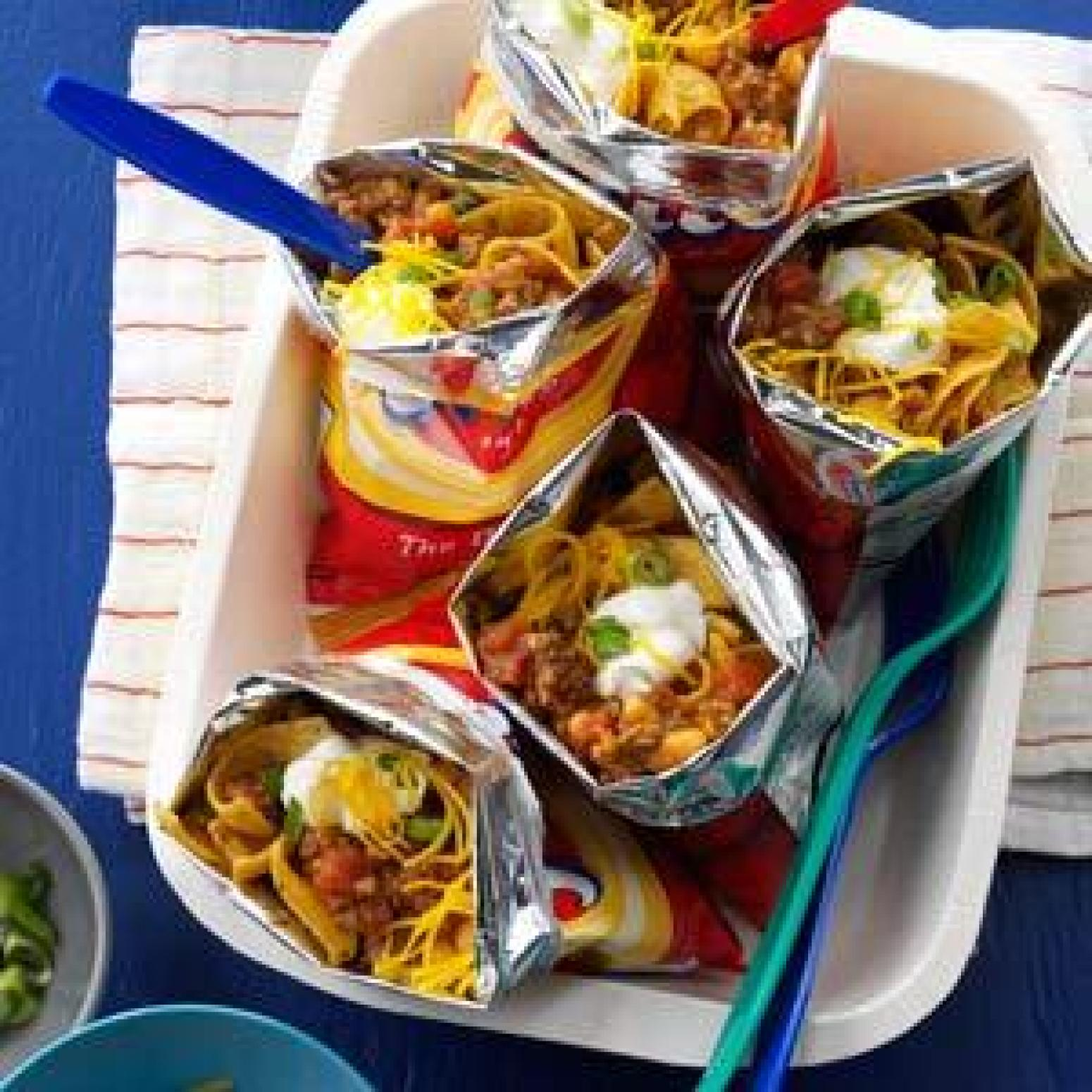 Camping Food Foil Recipes