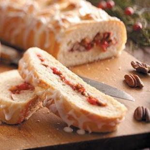 Glazed Cinnamon Braids Recipe