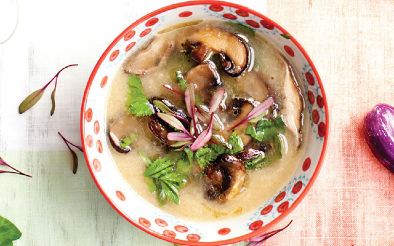 CELERY ROOT SOUP WITH GARLIC MUSHROOMS Recipe | Just A Pinch Recipes