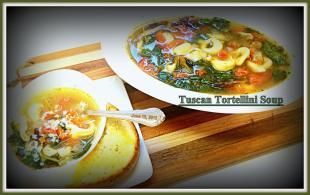 Tuscan Tortellini Soup Recipe