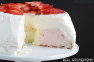 Strawberries and Cream Angel Food Cake Recipe