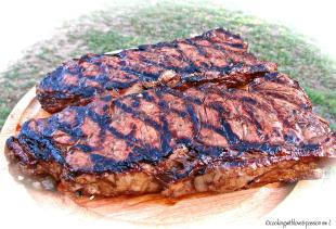 Nanshoe's Grilled Strip Steaks Recipe