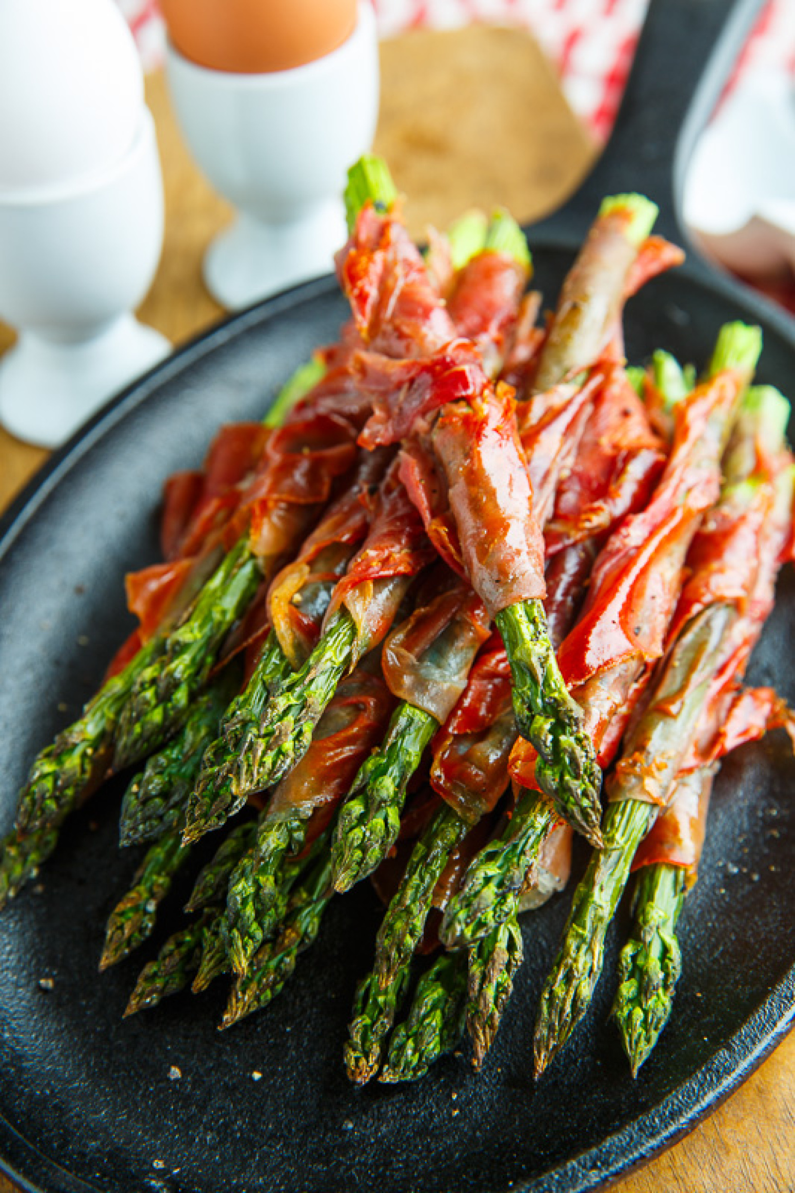 Crispy Prosciutto Wrapped Asparagus Fries Recipe | Just A Pinch ...