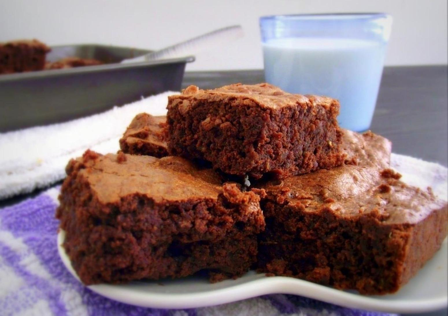 Recipe: Fudgy Quinoa Brownies | Just A Pinch Recipes