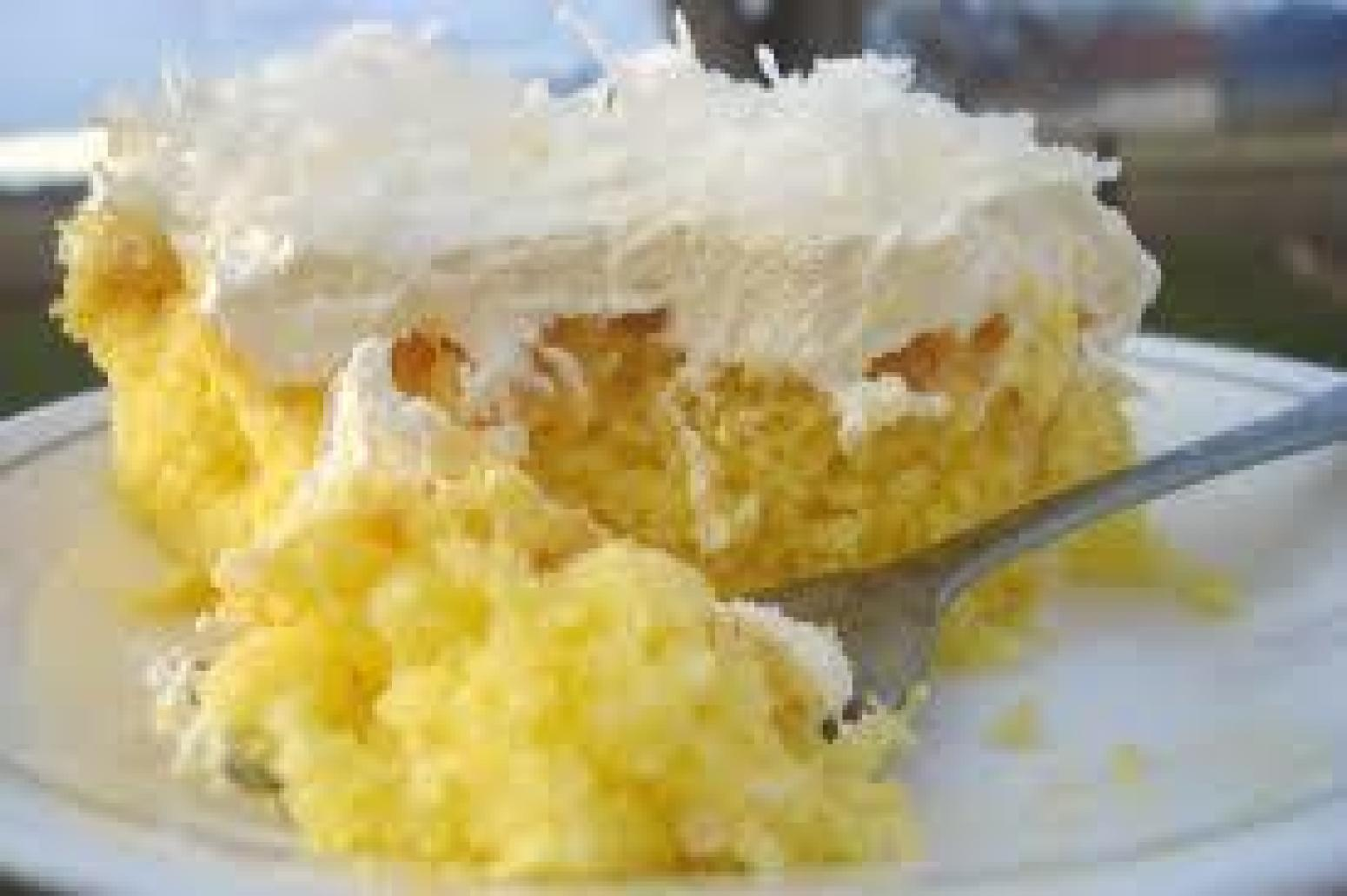 Moist N Creamy Coconut Cake Recipe Just A Pinch Recipes