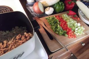 Ali's Crockpot Turkey Chili Recipe
