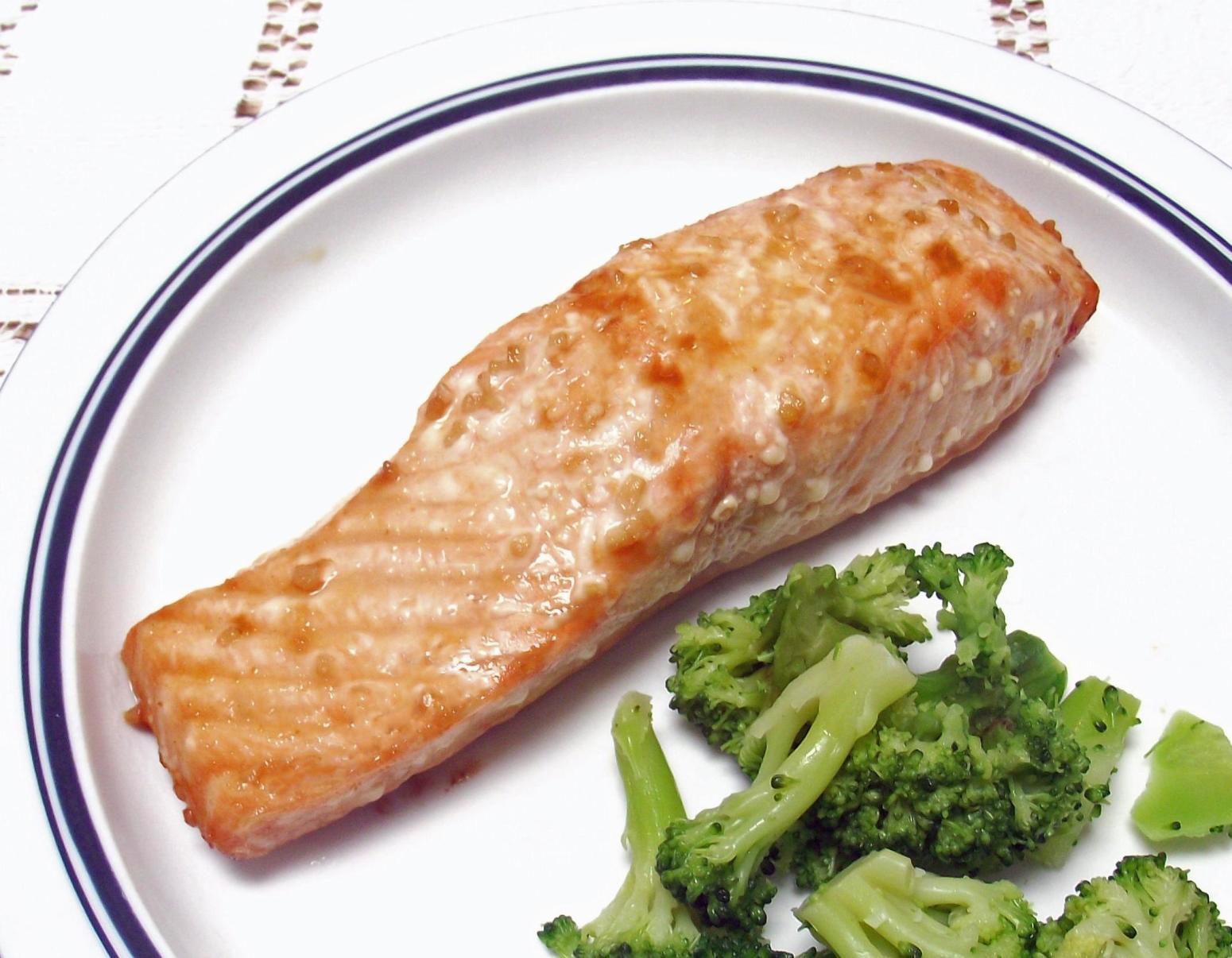 Orange Teriyaki Salmon Recipe | Just A Pinch Recipes