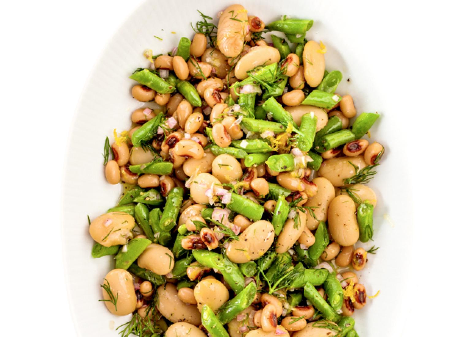 Three Bean Salad Recipe 16 | Just A Pinch Recipes