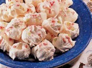 Peppermint Meringues Recipe