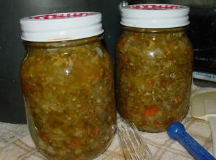 Piccalilli or Green Tomato Relish Recipe