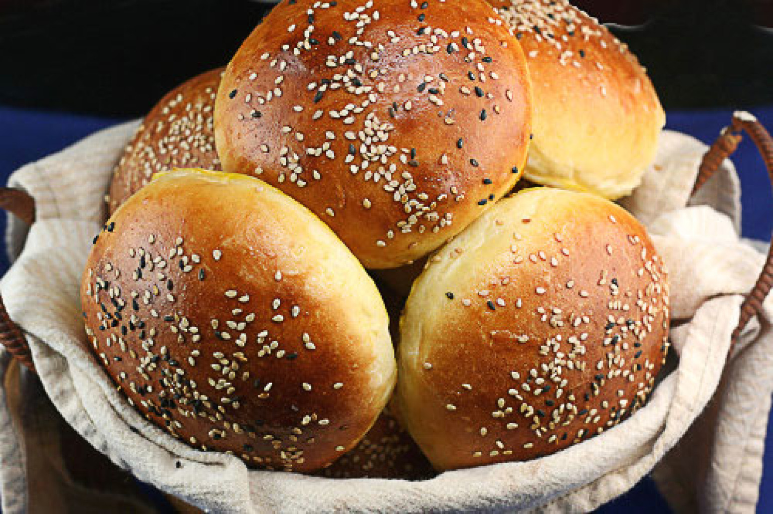 Light Brioche Burger Buns Recipe | Just A Pinch Recipes