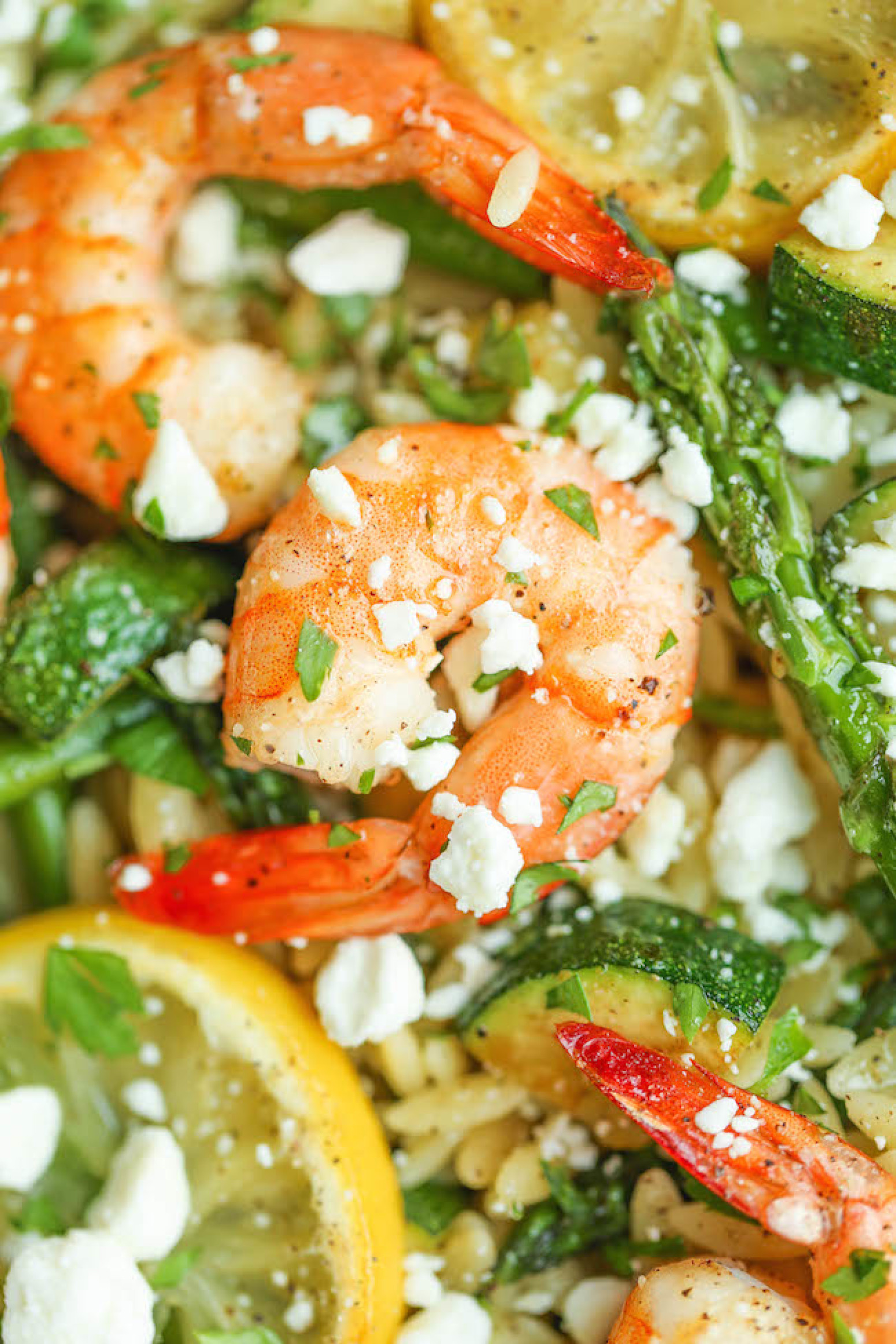 Asparagus Salad With Shrimp Recipe — Dishmaps