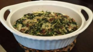 Spinach Pudding Recipe